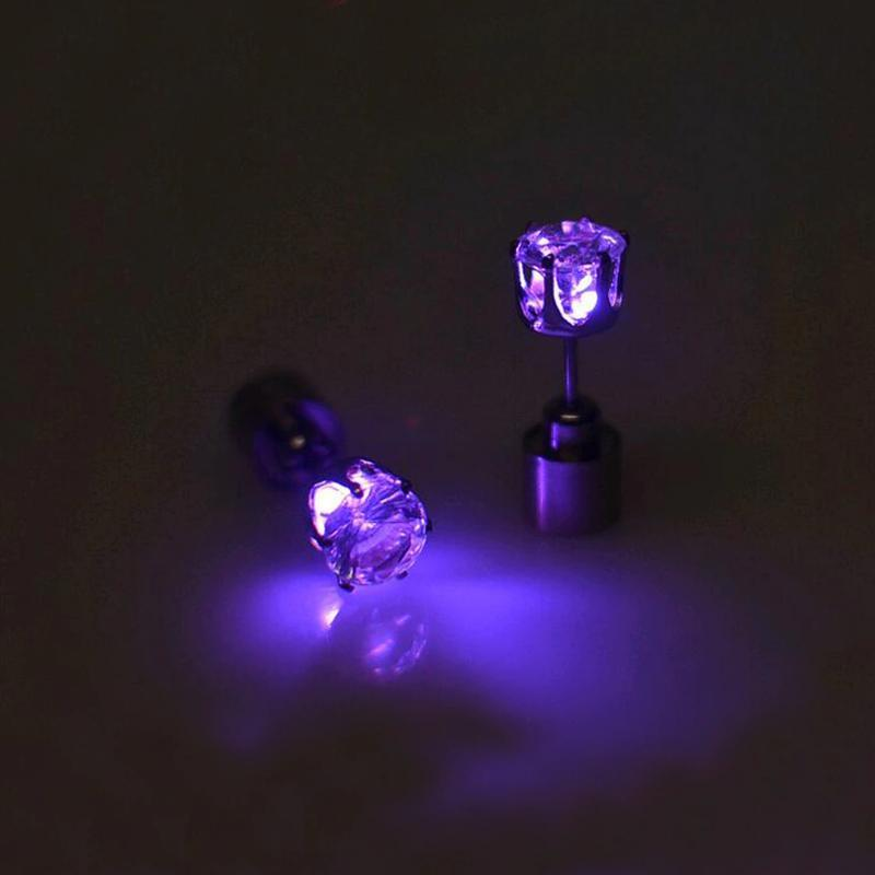 Crown LED Earrings
