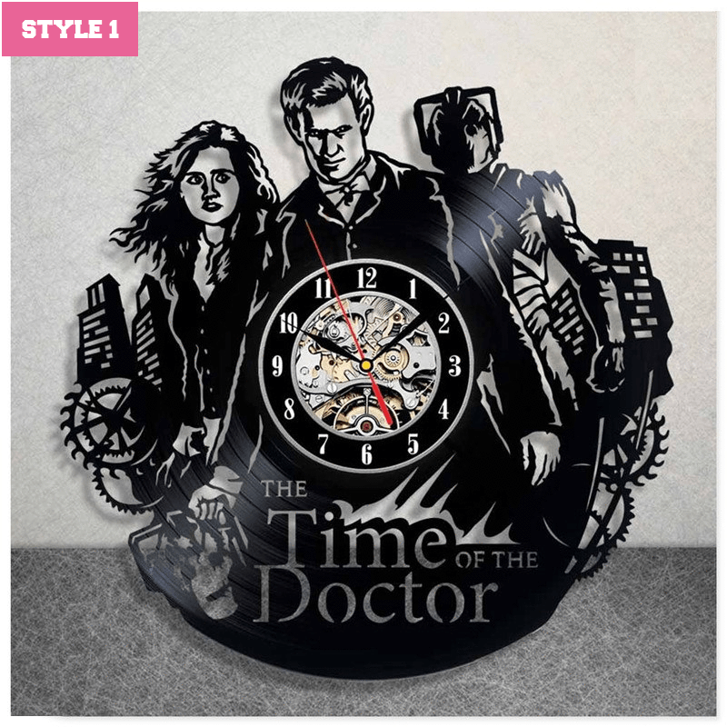Doctor Who Wall Clock