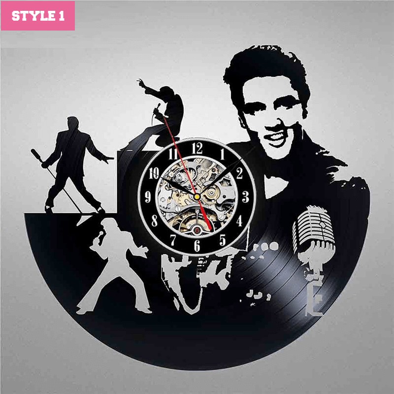 Elvis Presley Wall Clock