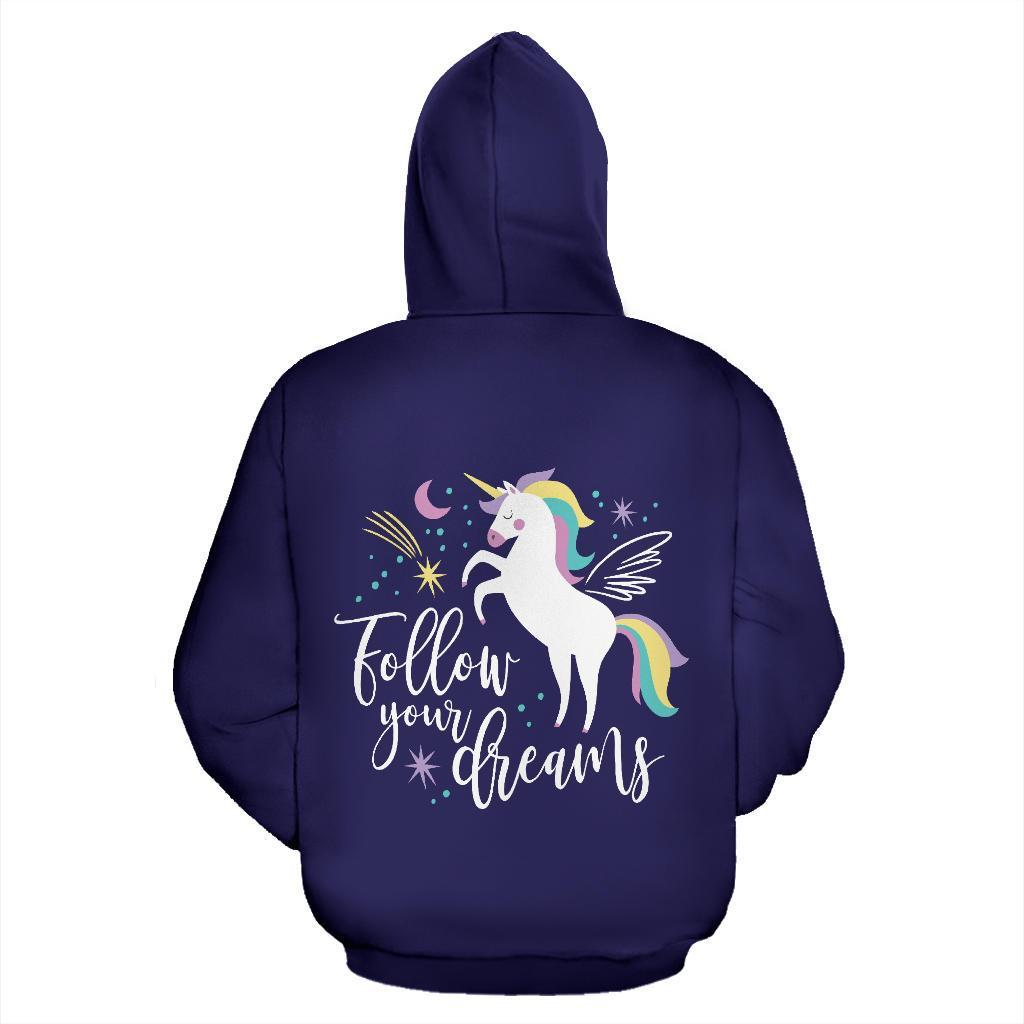 Unicorn Dream Over Hoodie
