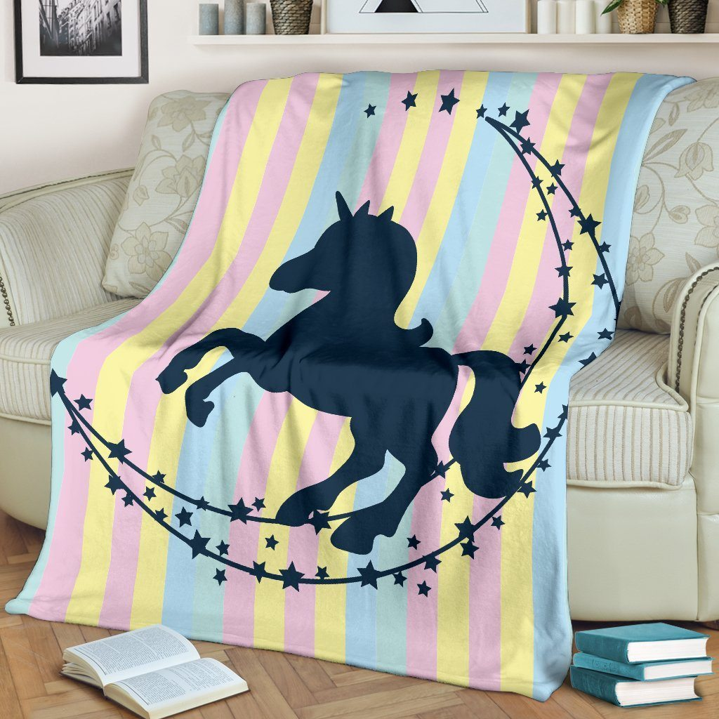 Unicorn Colorful Blanket