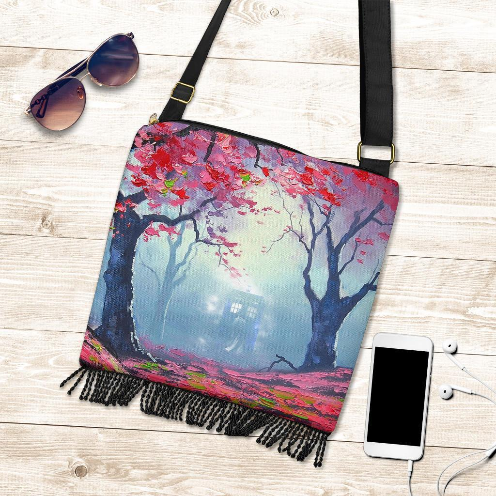 Doctor Who Spring Boho Handbag