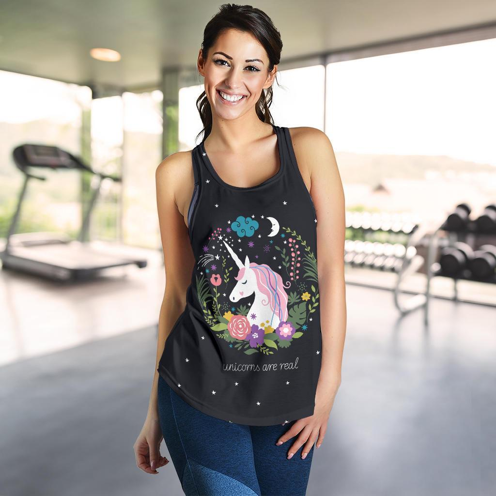 Unicorn Women's Racerback Tank