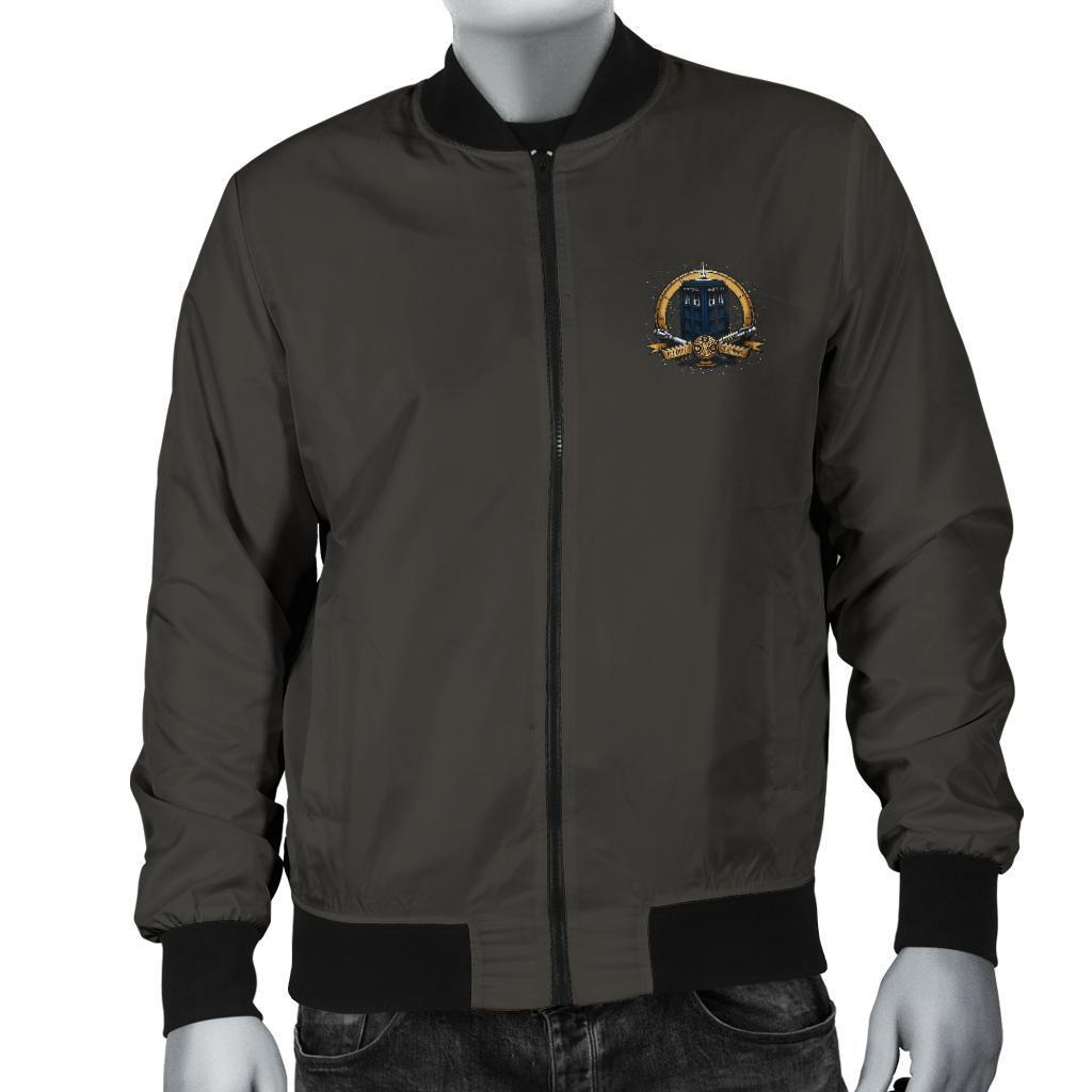 Doctor Who Time Lord Men's Bomber Jacket