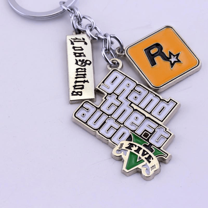 Grand Theft Auto Keychain