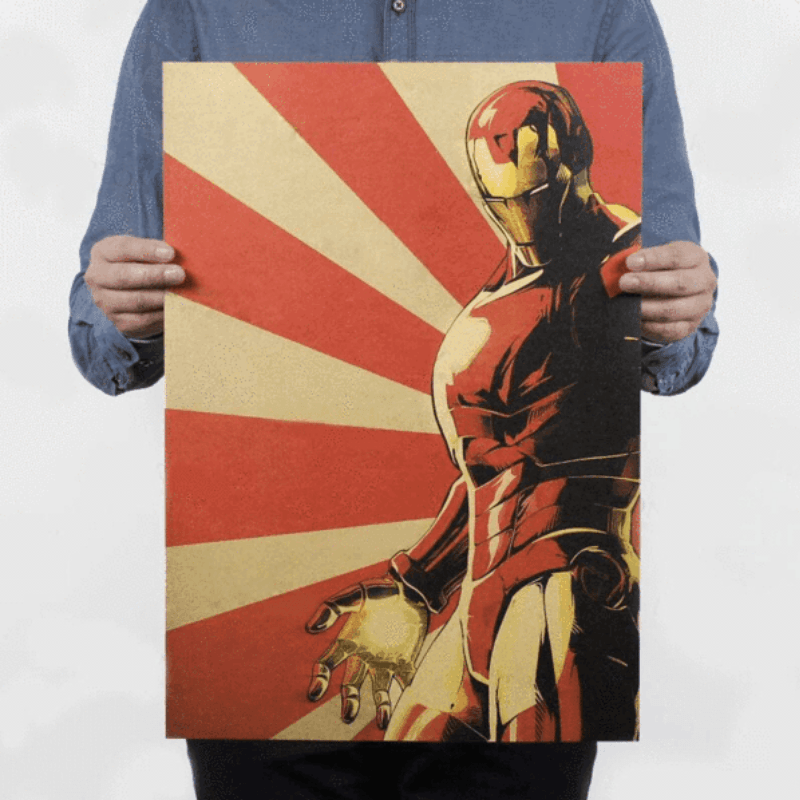 Iron Man Classic Poster