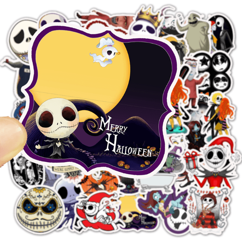 The Nightmare Before Christmas Stickers