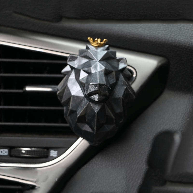 Lion Car Air Freshener Perfume