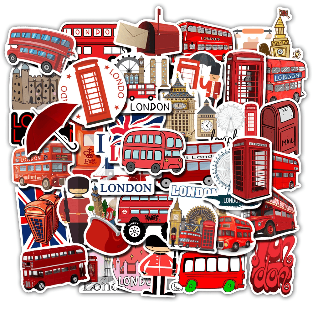 I love London Stickers