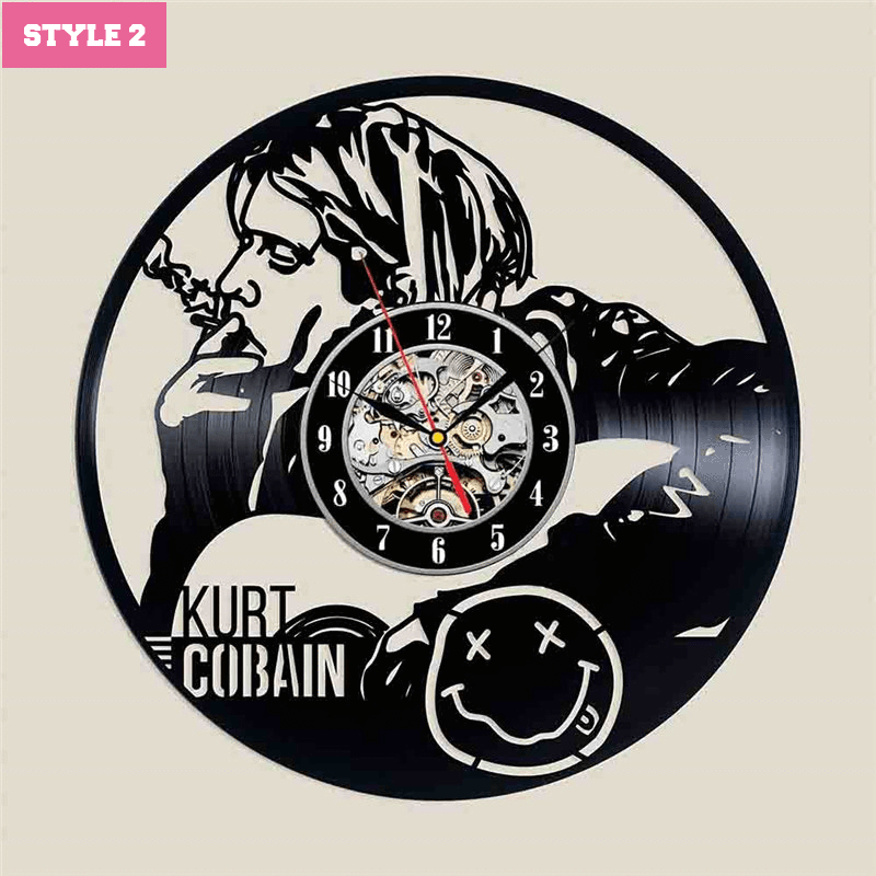 Nirvana Band Wall Clock