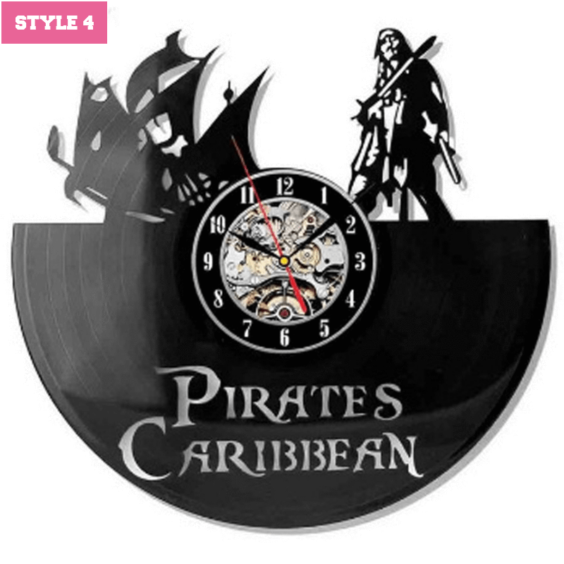 Pirates of the Caribbean Wall Clock