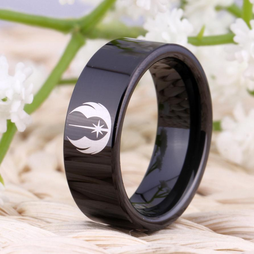 Star Wars Jedi Wolfram Ring