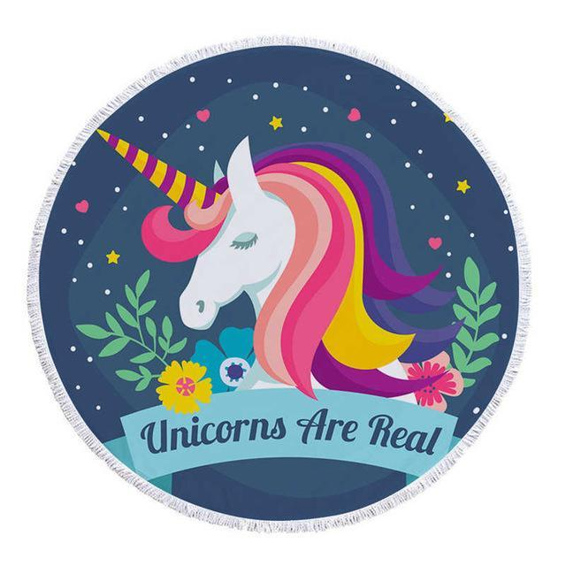 Unicorn Tassel Tapestry