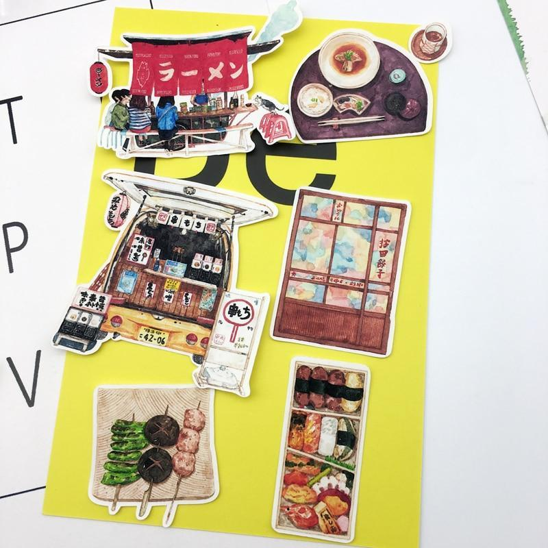 Japanese Street food Stickers