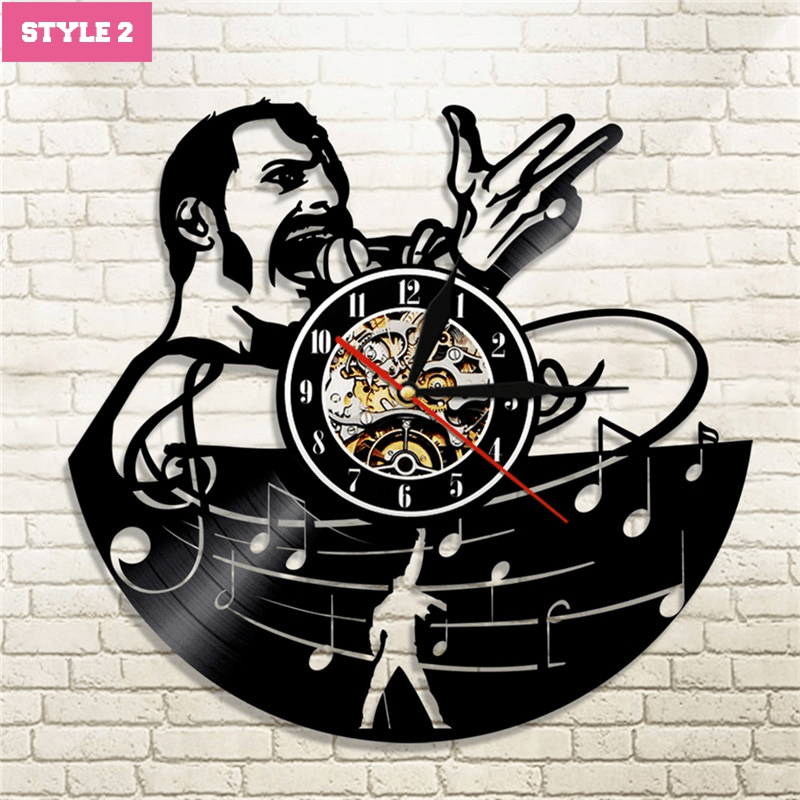 Queen Band Wall Clock
