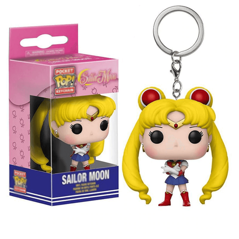 Sailor Moon Bobblehead Keychain