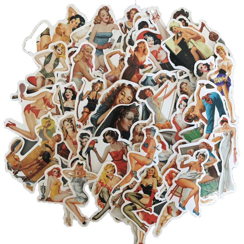 Sexy Beauty Girls Stickers