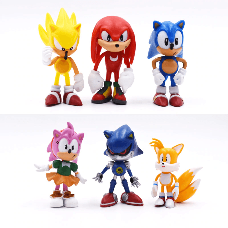 Sonic Team Racing Figures Toys