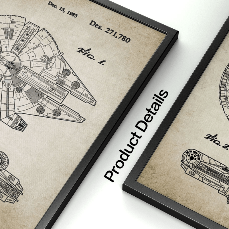 Star War Spaceship Wall Pictures