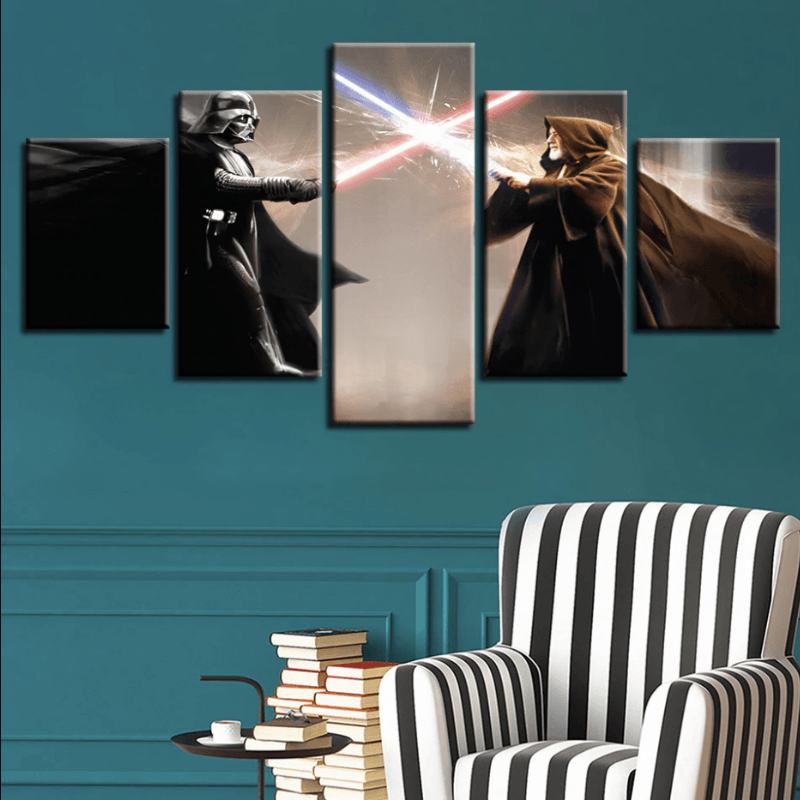 Star Wars 5 Pcs Canvas