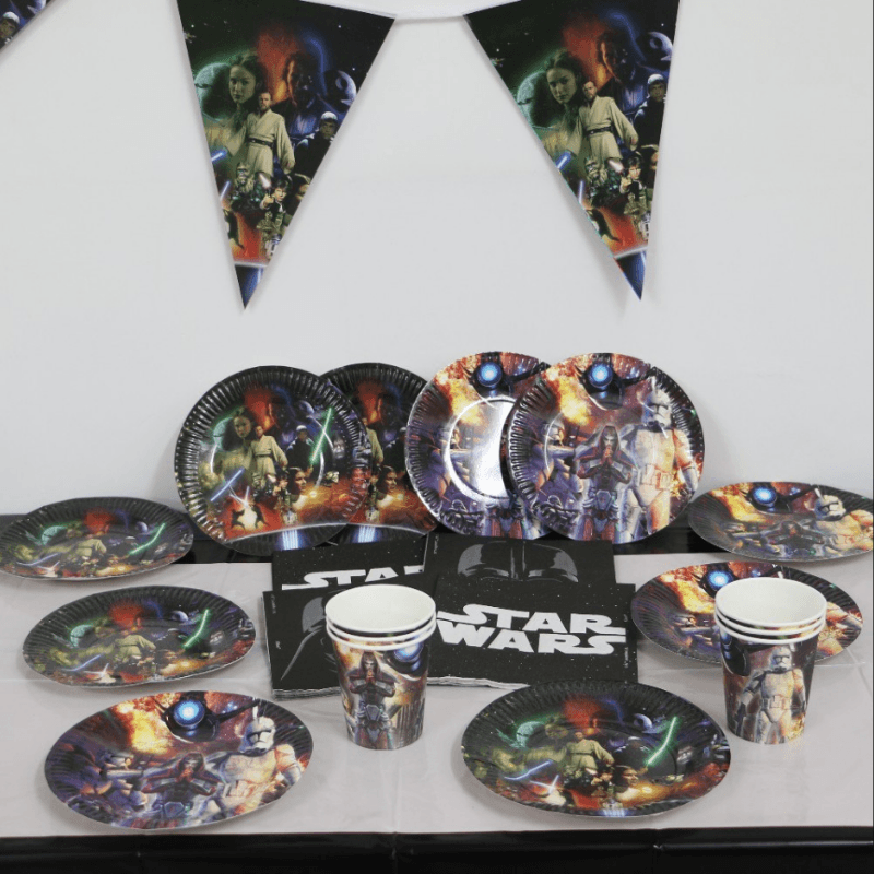 Star Wars Party Supplies Set 72 Pcs