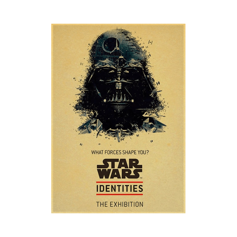 Star Wars Vintage Portrait Poster
