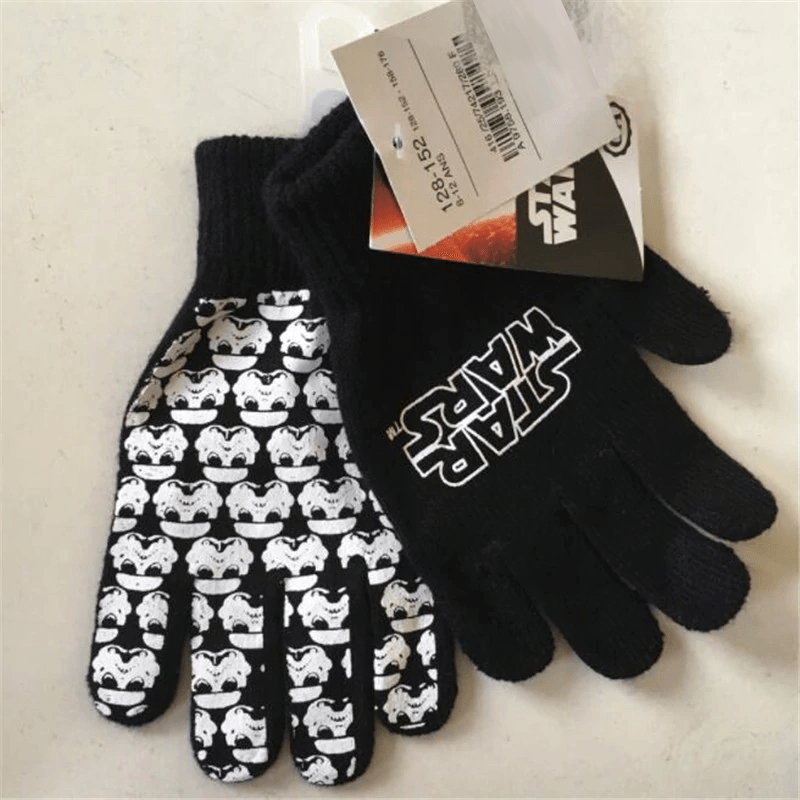 Stormtrooper Knitted Gloves