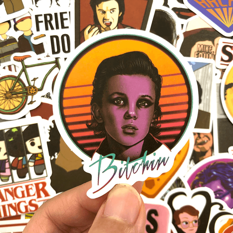 Stranger Things 3 Stickers