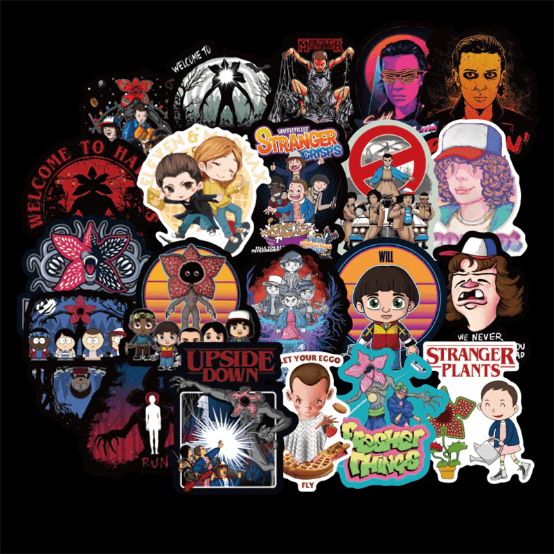 Stranger Things Cool Stickers