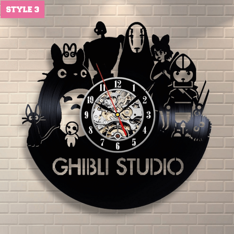 Studio Ghibli Wall Clock