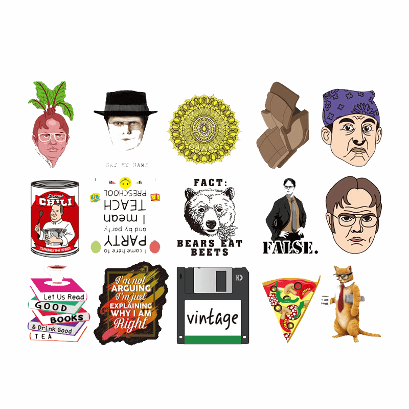 The Office Stickers