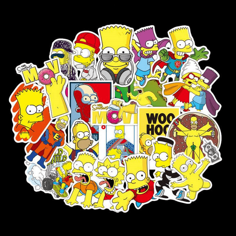 The Simpsons Cool Stickers