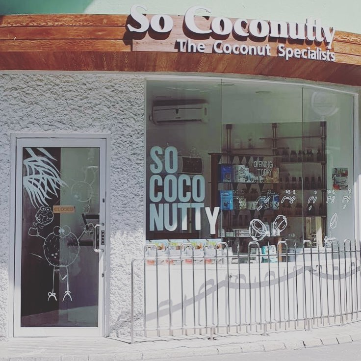 NOVEMBER 20, 2018 - First So Coconutty Retail outlet opens in Male' city, Maldives