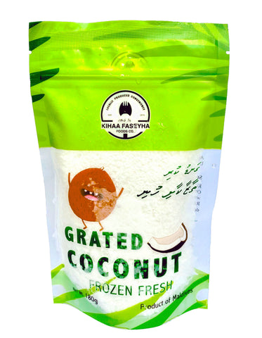 Frozen Grated Coconut 180 grams