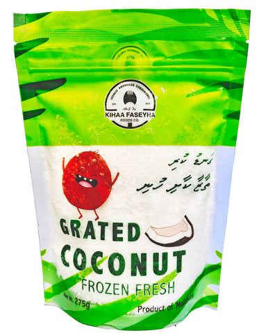 Frozen Grated Coconut 275 grams