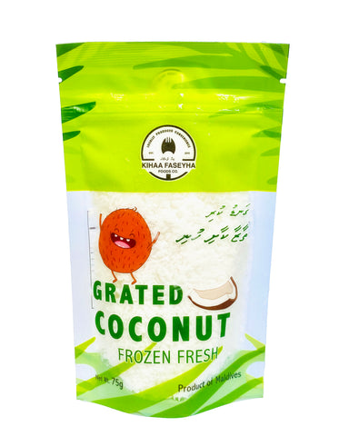Frozen Grated Coconut 75 grams