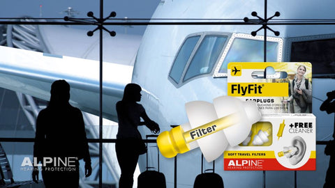 Alpine Flyfit Earplugs for Flying