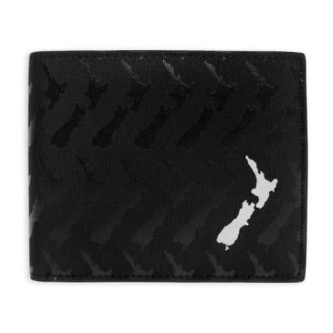 Billfold Wallet - NZ Map