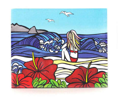 Sarah C Art Blocks : Girl and Surf
