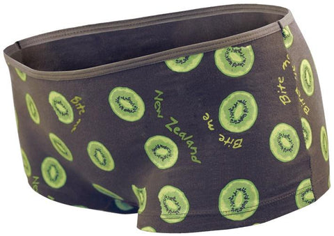 Kiwifruit Bite Me Ladies Boxer Brief