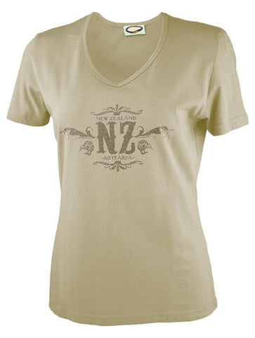 NZ Emblem Ladies Tee