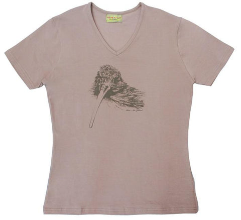 NZ Kiwi Sketch Ladies Tee