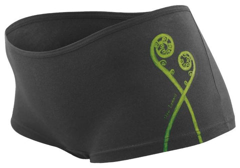 Frond Fern Ladies Boxer Brief