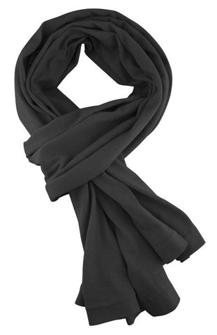 Merino & More Long Scarf Black