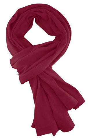 Merino & More Long Scarf Red