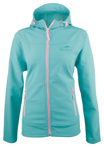 Mint SoftShell Ladies Jacket with Hood