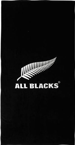 All Blacks Printed Beach Towel