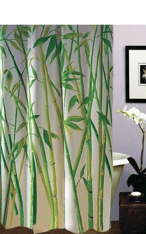 Bamboo Grove Shower Curtain