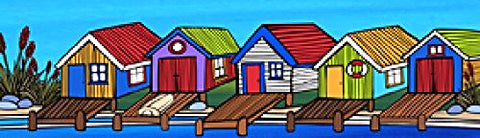 Sarah C Art Block: Boatshed and Jetties
