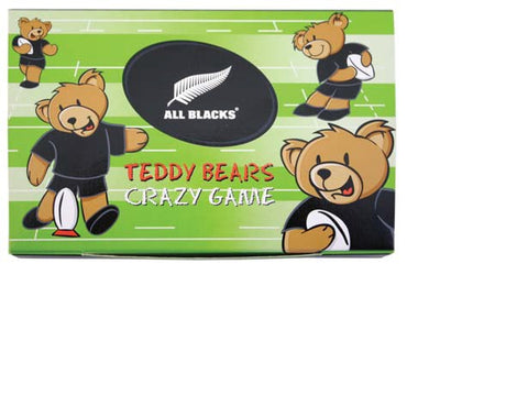 All Blacks Teddy Bears Crazy Game (9 Piece)